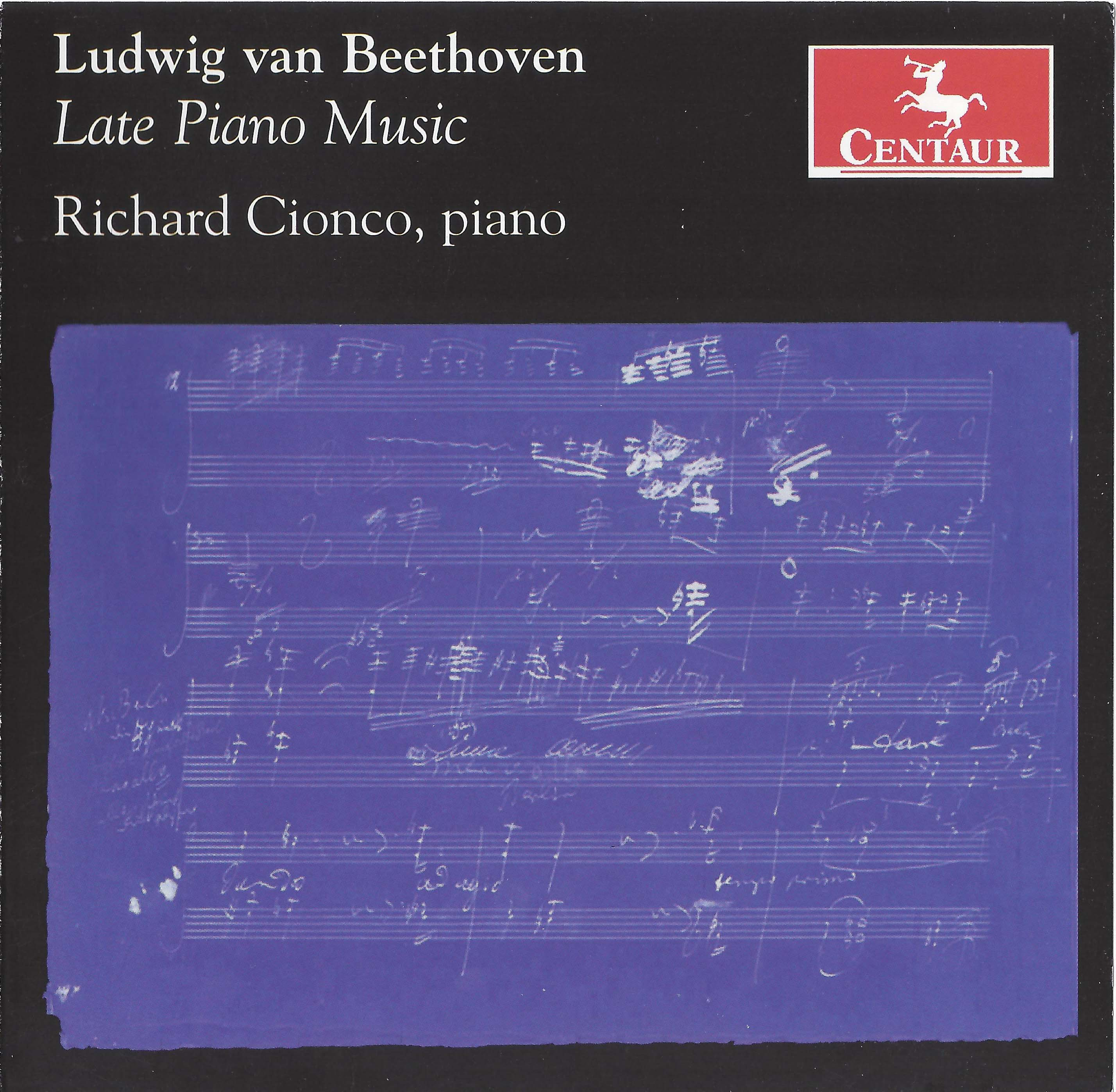 Ludwig van Beethoven: Late Piano Music