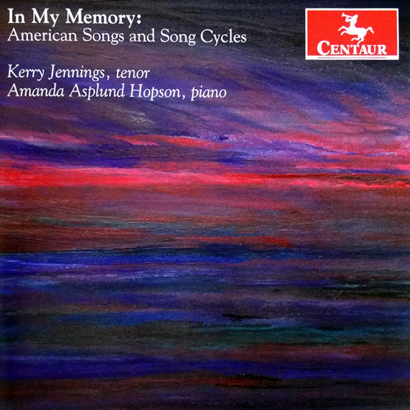 CRC 3296 In My Memory:  American Songs and Song Cycles