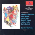 CRC 2045 CDCM Computer Music Series, Vol. 3 Works by H. Brun, S. Martirano, J. Melby, C. Scaletti