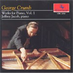 CRC 2050 George Crumb: Works for Piano, Vol. 1