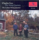 CRC 2069 Charles Ives: The String Quartets