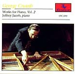 CRC 2080 George Crumb: Works for Piano, Vol. 2