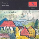 CRC 2156 Sonatas by Allen Brings: Sonata for Clarinet and Piano