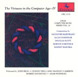 "CRC 2170 CDCM Computer Music Series, Volume 14 ""The Virtuoso in the Computer Age--IV."""