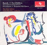 CRC 2239 Bartók:  For Children: Transcriptions for String Orchestra