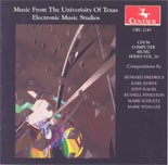 CRC 2245 CDCM Computer Music Series, Volume 20  Music From the University of Texas Electronic Music Studios.