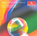 CRC 2275 Works of Barber, Martinu, Bartok, Bavicchi