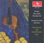 CRC 2300 David Dzubay:  Sonata for Cello and Piano