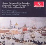 CRC 2307 Anton Arensky:  Concerto for Piano and Orchestra, Op. 2