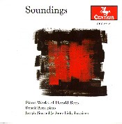 CRC 2332 Soundings:  Piano Works of Donald Betts
