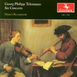CRC 2358 Georg Philipp Telemann:  Six Concerts:  Concerto I in D Major