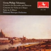 CRC 2366 Georg Philipp Telemann:  Concerto in F Major for Recorder, Bassoon, Strings, and Continuo