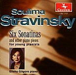 CRC 2370 Soulima Stravinsky:  Six Sonatinas and other piano pieces for young pianists
