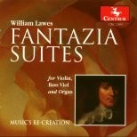 CRC 2385 William Lawes:  Fantazia-Suites for Violin, Bass Viol, and Organ