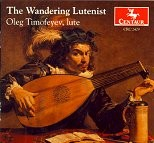 CRC 2409 The Wandering Lutenist.  Works by Giovanni Kapsberger, Pietro Paolo Melli