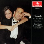 "CRC 2460 ""Duende: Two-Piano Music From Spain.""  Manuel infante: Garcia from Danses Andalouses"