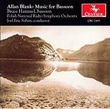 CRC 2485 Allan Blank: Music for Bassoon