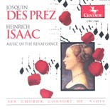 CRC 2548 Josquin Des Prez and Heinrich Isaac: Music of the Renaissance