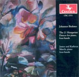 CRC 2551 Johannes Brahms: The 21 Hungarian Dances for piano, four-hands