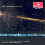 CRC 2552 CDCM Computer Music Series Volume 32 The International Computer  Music Association Awards--1997-99