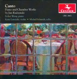 CRC 2602 Canto: Piano and Chamber Works by Jan Radzynski.