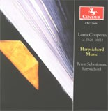 CRC 2608 Louis Couperin: Harpsichord Music.  Prelude in D Minor
