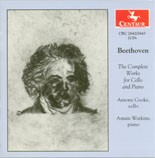 CRC 2642/2643 Beethoven: The Complete Works for Cello and Piano