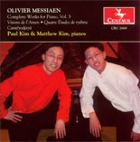 CRC 2668 Olivier Messiaen: Complete Works for Piano, Vol. 3.  Visions de l'Amen