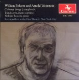 CRC 2682 William Bolcom and Arnold Weinstein: Cabaret Songs (complete)