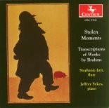 CRC 2706 Stolen Moments: Transcriptions of Works by Brahms.  Sonata in E- flat Major, Op 120, No. 2