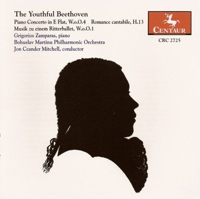 CRC 2725 The Youthful Beethoven.  Piano Concerto in E Flat, W.o.O. 4