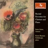 CRC 2738 Recital Favorites for Clarinet and Piano.  Eugene Bozza:  Fantaisie italienne
