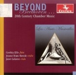 CRC 2778 Beyond Beethoven...20th Century Chamber Music.  Max Reger:  Serenade for Flute, Violin and Viola, Op. 141A in G Major