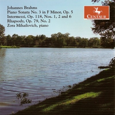 CRC 2813 Johannes Brahms:  Piano Sonata No. 3 in F Minor, Op. 5