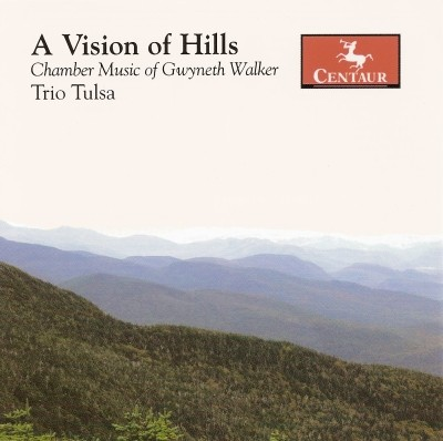 CRC 2820 A Vision of Hills:  Chamber Music of Gwyneth Walker.  New World Dances for Piano Trio