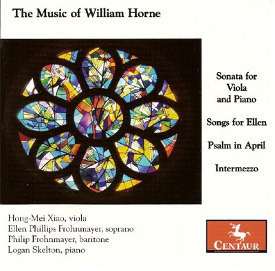 CRC 2845 The Music of William Horne. Sonata for Viola and Piano