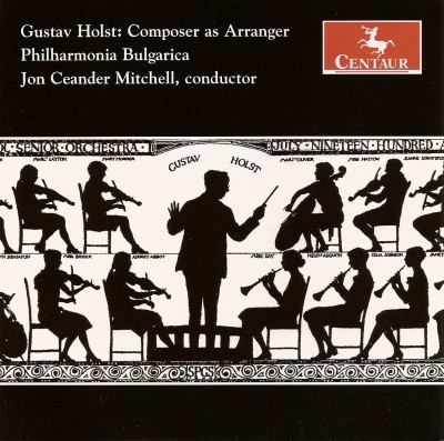 CRC 2857 Gustav Holst:  Composer as Arranger.  Greeting