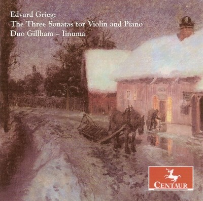 CRC 2873 Edvard Grieg:  The Three Sonatas for Violin and Piano.  Sonata No. 1 in F Major, Op. 8