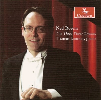 CRC 2874 Ned Rorem:  The Three Piano Sonatas.  Thomas Lanners, piano
