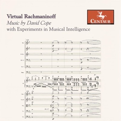 CRC 2888 David Cope:  Virtual Rachmaninoff, with Experiments in Musical Intelligence.  Concerto, after Rachmaninoff