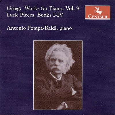 CRC 2930 Grieg:  Works for Piano, Volume 9.  Lyric Pieces, Books I-IV