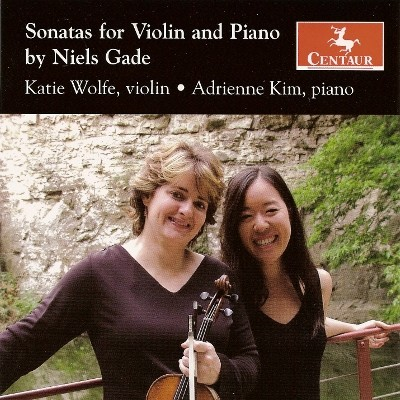 CRC 2973 Sonatas for Violin and Piano by Niels Gade.  Sonata No. 1 in A Major, Op. 6