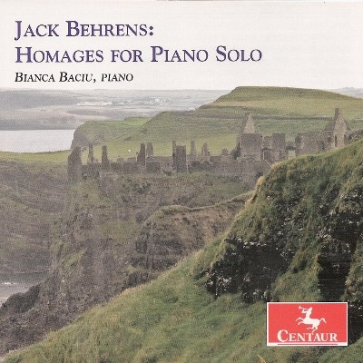 CRC 2977 Jack Behrens:  Homages for Piano Solo.  Homage to Cage