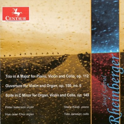 CRC 2986 Josef Gabriel Rheinberger:  Trio in A Major for Piano, Violin and Cello, Op. 112