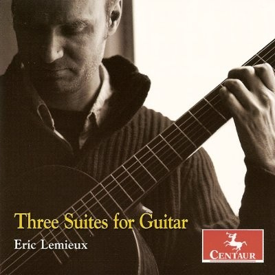 CRC 3008 Eric Lemieux:  Three Suites for Guitar
