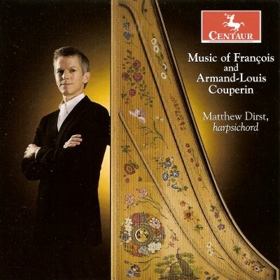CRC 3016 Music of Francois and Armand-Louis Couperin.  Francois Couperin:  Suite in F (selections from the 4th, 18th, and 23rd Ordres)