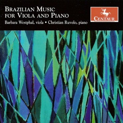 CRC 3052 Brazilian Music for Viola and Piano.  Edino Krieger:  Brasiliana
