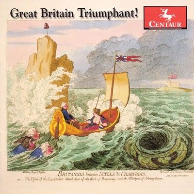 CRC 3073 Great Britain Triumphant!  James Hook:  Great Britain Triumphant.  Also works by Shaw, Attwood, Storace, Shield, and Atterbury