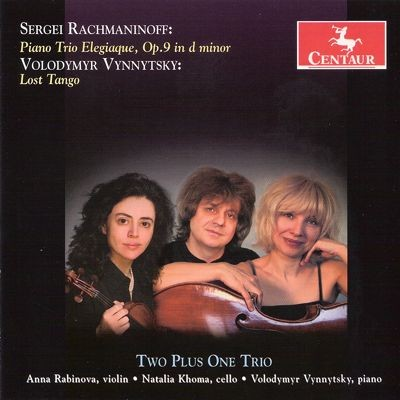 CRC 3101 Sergei Rachmaninoff:  Piano Trio Elegiaque, Op. 9 in d minor