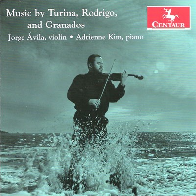 CRC 3158 Music by Turina, Rodrigo, and Granados.